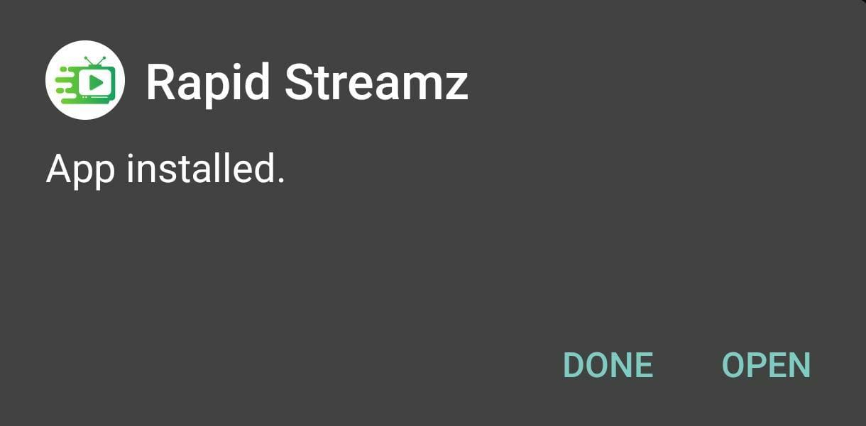Rapid Streamz INSTALLED
